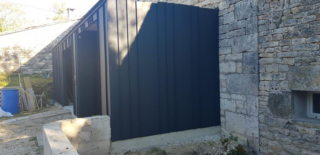 extension maison facade joint debout 7016