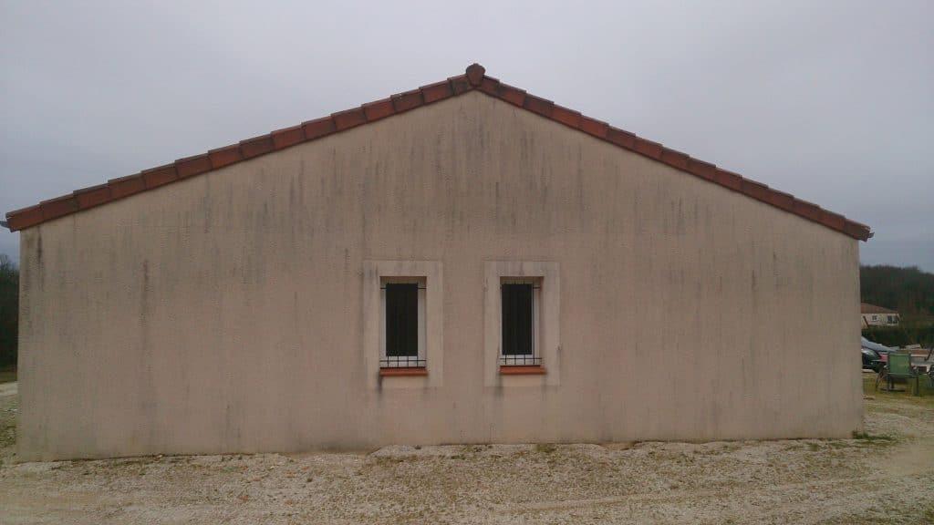Extension de maison - avant