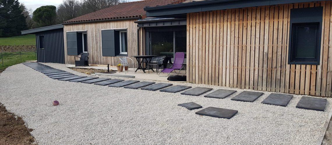 Extension maison cahors - après